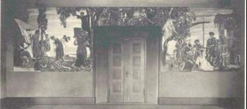 einziges historisches Bilddokument in Form einer Postkarte