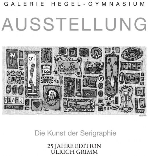 Vernissage Kunst der Serigraphie