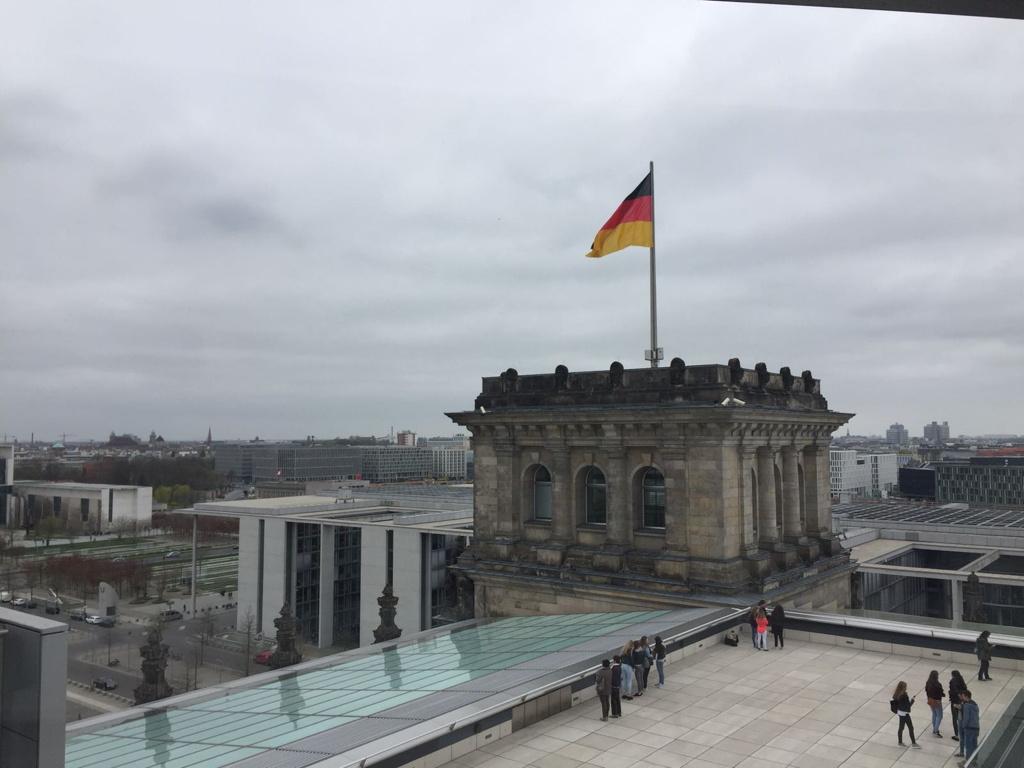 Aussicht aus dem Reichtag