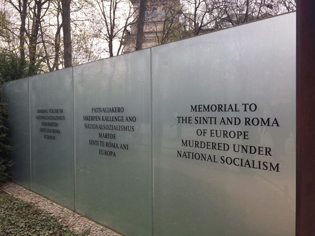 Denkmal der im Nationalsozialismus ermordeten Sinti und Roma